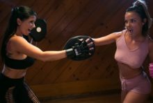 Lesbian Workout Stories: Going Hard – Dillion Harper, Romi Rain (2017)