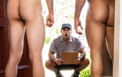 Small Things Cum in Good Packages | Vadim Black, Bruce Beckham & Michael Jackman