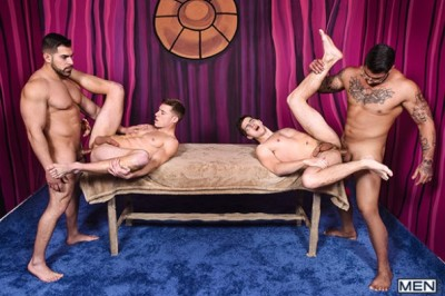 Men Bang, Part 4 | Ryan Bones, Damien Stone, Justin Matthews & Will Braun