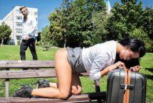 BitchesAbroad – Ukrainian tourist Daphne Klyde orgasms intensely in wild fuck abroad