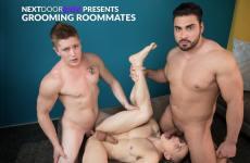 Grooming Roommates – Dante Martin, Chris Blades, Derek Wulf – Bareback (2018)