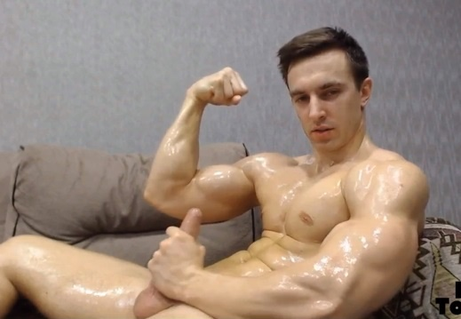 [Cam Show] Big Load from Russia | Andy Pecman / Prince_D1ck
