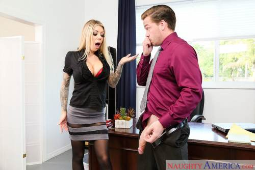 Karma RX & Kyle Mason in Naughty Office (2017)