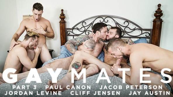 Gaymates, Part 3 – Cliff Jensen, Jordan Levine, Paul Canon, Jay Austin & Jacob Peterson (2018)