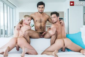 Rico Marlon, Damon Heart, Cody Winter | Bareback Double Penetration (2017)