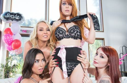 Strap-On Stories: Gangbang Bachelorette – Penny Pax, Violet Monroe, Melissa Moore, Aaliyah Love (2017)