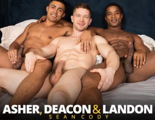 Asher, Deacon & Landon's raw threeway (2017)