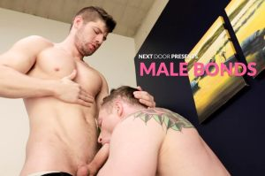 Male Bonds | Markie More, Connor Halsted | Bareback | 2018