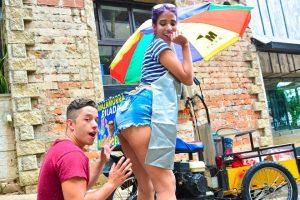 CarneDelMercado | Slim Colombian gets fingered and banged hard | Yamile Mil, Logan Salamanca | 2018