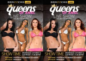 B r a z z e r s Live 41 – Queens Of Anal – Madison Ivy, Monique Alexander, Alektra Blue (2013)