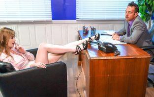 Office Slut – Bridgette B, Dolly Leigh & Johnny Castle (2017)