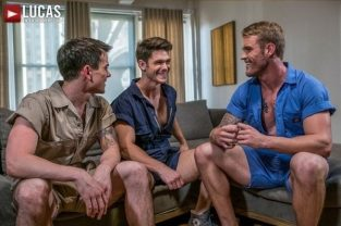 Rompers & Raw Fucking – Dakota Payne, Devin Franco & Shawn Reeve – Bareback (2017)