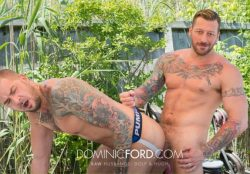 Raw Husbands – Hugh Hunter Fucks Dolf Dietrich – Bareback (2017)