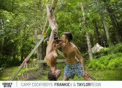 Camp Cockyboys – Frankie V & Taylor Reign (2017)