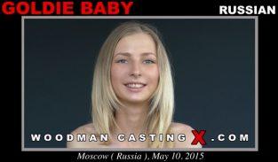 WoodmanCastingX – Goldie Baby Anal Casting