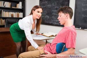Diamond Foxxx & Rion King in My First Sex Teacher