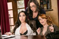 Lady Boss: Caught At The Office – Penny Pax, Karlee Grey, Sinn Sage (2018)