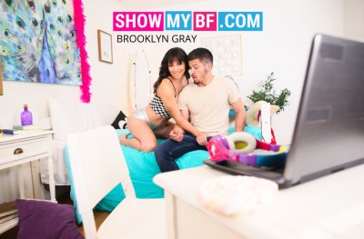 Brooklyn Gray & Bambino in Show My BF
