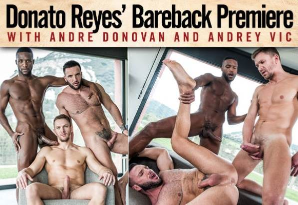 Donato Reyes, Andre Donovan & Andrey Vic – Bareback (2017)