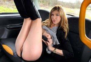 FakeTaxi | Brunette takes deep anal cock | Melissa Medisson | FakeHub / 2018