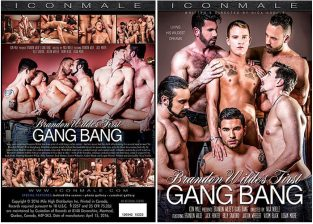 Brandon Wilde's First Gangbang – Full Movie (2017)