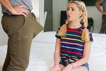 Horny Stepdaughter Spots Stepdad's Big Dick | Jane Wilde, Ryan Driller | 2018