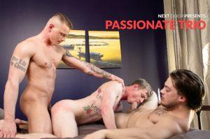 Passionate Trio | Gunner, Ryan Jordan, Scotty Dickenson | Bareback | 2018