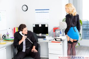 Sarah Jessie & Tyler Nixon in Naughty Office | 2018