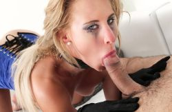 Wild rough anal pounding with blonde Hungarian babe Helena Valentine (2017)