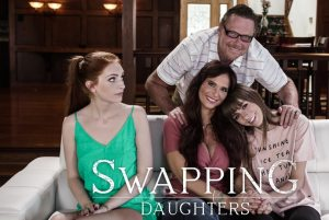 Swapping Daughters | Alex Blake, Syren De Mer & Dick Chibbles