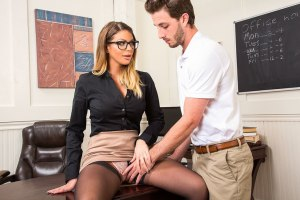 Brooklyn Chase & Lucas Frost in My First Sex Teacher | 2018