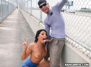 Adriana Squirts From Anal in Public | Adriana Chechik, Tyler Steel
