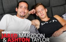 Ashton Taylor barebacks Jared Marzdon (2017)