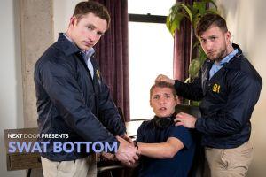 Swat Bottom | Markie More, Elye Black, Nicholas Ryder | Bareback | 2018