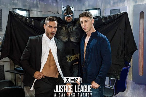 Justice League: A Gay XXX Parody, Part 3 – Manuel Skye, Ryan Bones & Paul Canon (2017)
