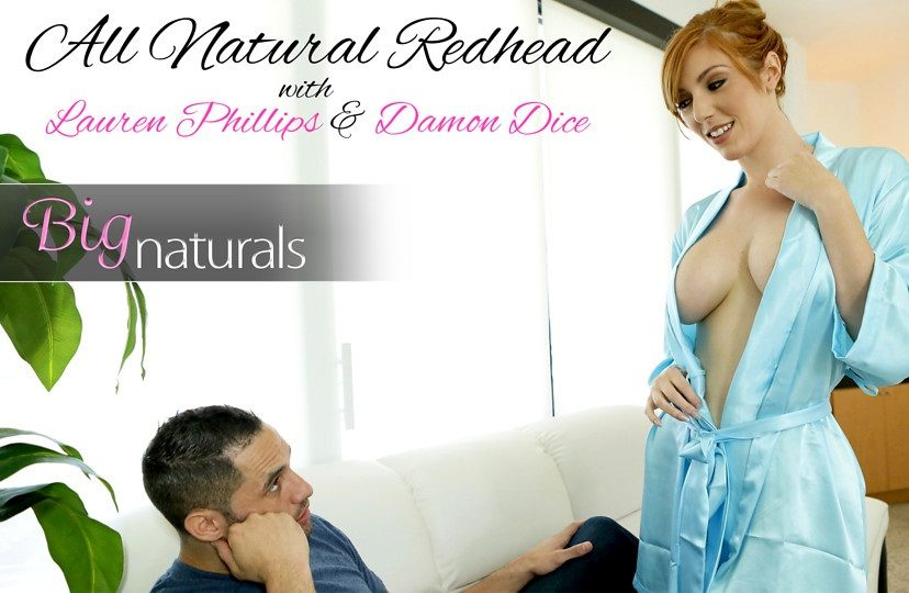 All Natural Redhead – Lauren Phillips, Damon Dice (2017)