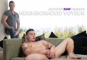 Neighborhood Voyeur | Jackson Cooper, Spencer Laval | Bareback | 2018