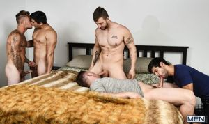Pass The Bottom, Part 3 | Allen Lucas, Axel Kane, Brian Michaels, Nicolas Ryder & Ty Mitchell | 2018