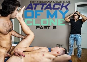 Attack of My Clone, Part 2 | Diego Sans, David Blake