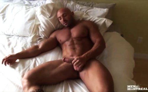 Max Chevalier Jerking Off His Cock