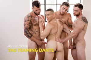 Tag Teaming Dante | Dante Martin, Markie More, Johnny Hill & Carter Woods | Bareback | 2018