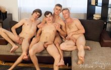 Wank Party #90 Part 1 RAW – Filip Onalek, Karel Polak, Tom Vojak & Tomas Berger