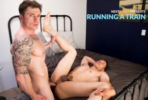 Running A Train | Markie More, David Strong | Bareback | 2018