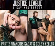 Justice League: A Gay XXX Parody Part 2 – Colby Keller, Francois Sagat (2017)