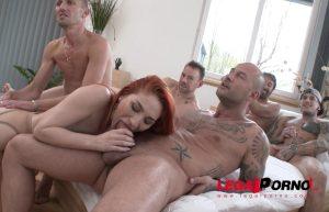 LegalPorno – Luna Melba assfucked by 5 guys & swallows 9 loads SZ1753 (2017)