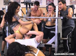 A Workout for Your Cock! | Rose Monroe, Holly Hendrix, Mia Martinez, Geronimo, Evan Cox