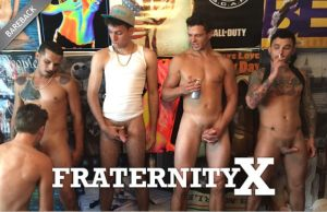 FraternityX | Straight Up Gay | Bareback | 2018