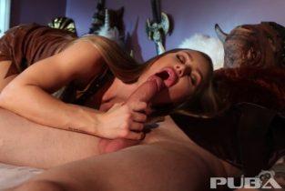 Hunter Nicole Aniston captures a Minotaur and milks his balls dry – Nicole Aniston, Alex Legend