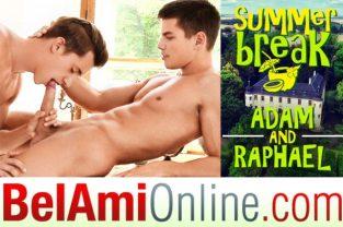 Summer Break Episode 1 – Adam Archuleta barebacks Raphael Nyon (2017)