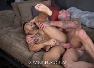Bareback – Sean Duran Feeds + Breeds Xavier Huxx (2017)
